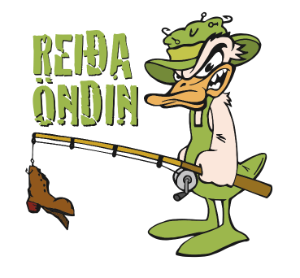Reiða öndin Logo