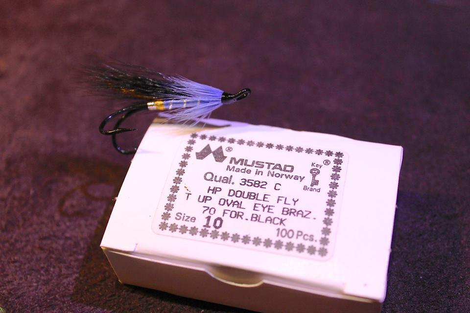 Blue Nun veiðifluga-Laxafluga