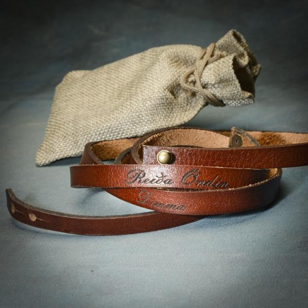 Andarband armband frá Reiðu Öndinni