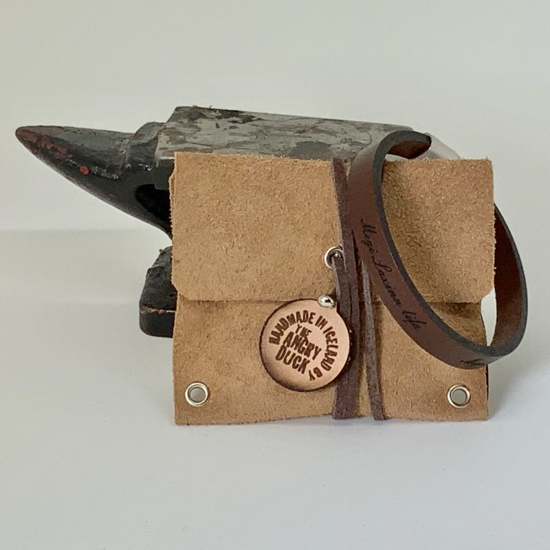 Armband megi laxinn lifa